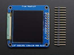 Oled breakout board 16 bit color 1 dot 5 8213726686