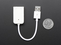 Usb audio adapter works with raspberry 5542664403