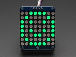 Adafruit small 1 dot 2 8x8 led matrix w slash i2c 1750393308