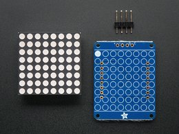 Adafruit small 1 dot 2 8x8 led matrix w slash i2c 7547965243