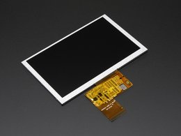 5 dot 0 40 pin 800x480 tft display without 7064300016