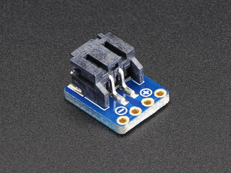 Jst ph 2 pin smt right angle breakout bo 6571716605