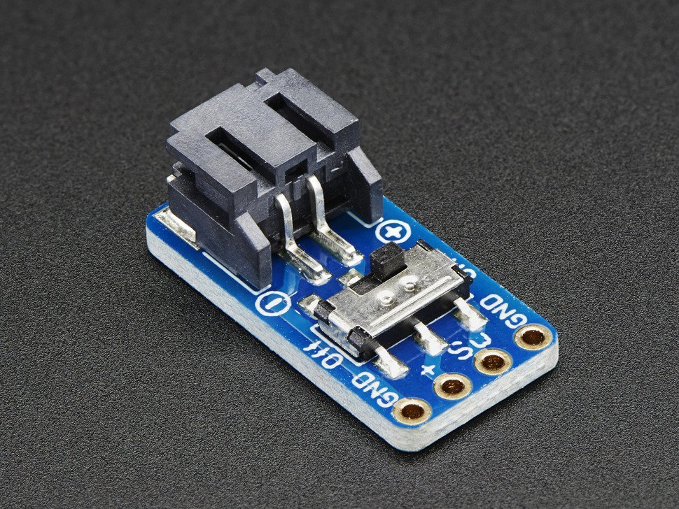 Switched jst ph 2 pin smt right angle br 3901094151