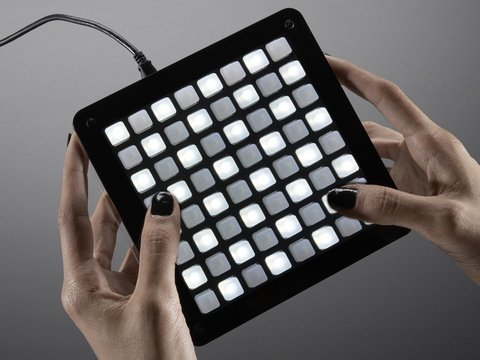 Adafruit UNTZtrument! Open-Source 8x8 Grid Controller Kit - 8x8 White LEDs