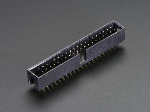 2x20 pin IDC Box Header - Raspberry Pi A+/B+/Pi 2/Pi 3
