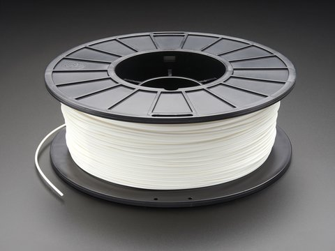 PLA Filament for 3D Printers - 1.75mm Diameter - White - 1KG