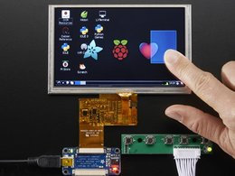Hdmi 4 pi 5 display w slash touch and mini d 1351588198