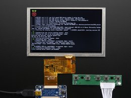 Hdmi 4 pi 5 display w slash touch and mini d 8630186776