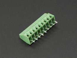 "2.54mm/0.1"" Pitch Terminal Block - 9-pin"