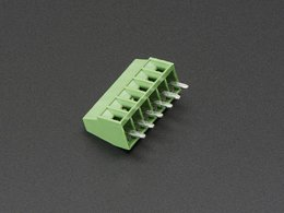 "2.54mm/0.1"" Pitch Terminal Block - 6-pin"