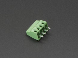 "2.54mm/0.1"" Pitch Terminal Block - 4-pin"