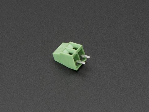 "2.54mm/0.1"" Pitch Terminal Block - 2-pin"