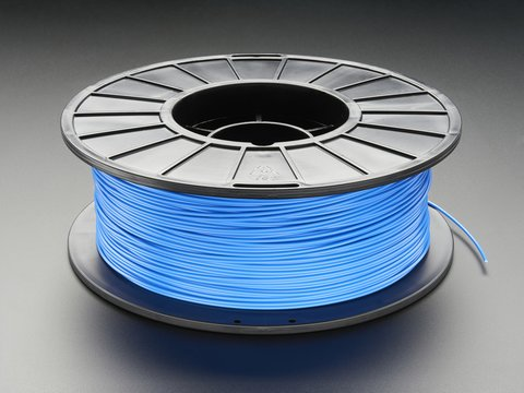 ABS Filament for 3D Printers - 3mm Diameter - Blue - 1KG