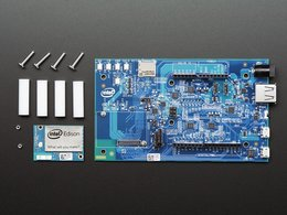 Intel r edison r2 kit w slash arduino breakout 6529600062
