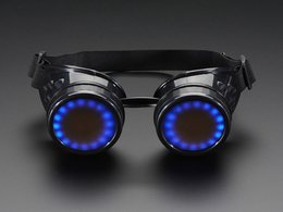 Trinket powered neopixel goggle kit pack 5013196254