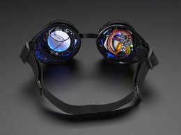 Trinket powered neopixel goggle kit pack 8347348032