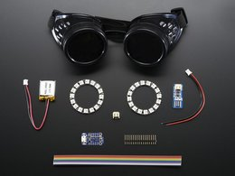 Trinket powered neopixel goggle kit pack 7051720053