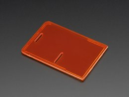 Raspberry Pi Model B+ / Pi 2 / Pi 3 Case Lid - Orange