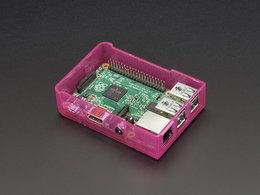 Pi Model B+ / Pi 2 / Pi 3 Case Base - Pink