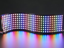 Flexible 8x32 NeoPixel RGB LED Matrix
