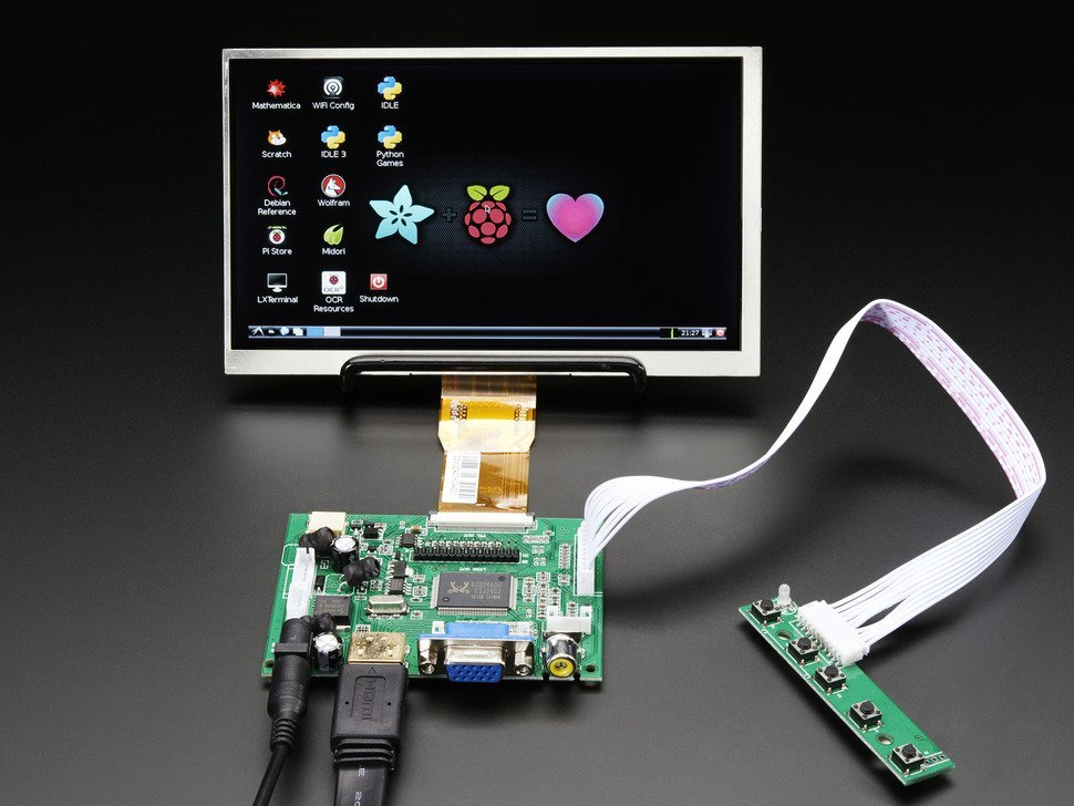 Hdmi 4 pi 7 display no touchscreen 102 6232962774