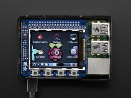 "Adafruit PiTFT 2.2"" HAT Mini Kit - 320x240 2.2"" TFT - No Touch"