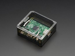 Adafruit Raspberry Pi A+ Case - Smoke Base w/ Clear Top
