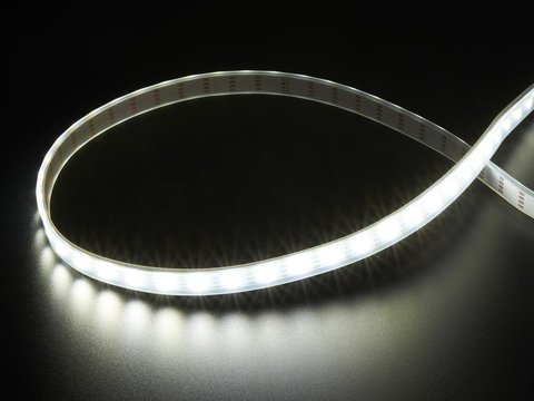 Adafruit DotStar LED Strip - APA102 Cool White - 60 LED/m - 6000K