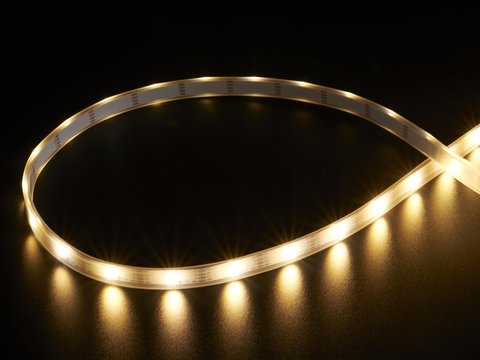 Adafruit DotStar LED Strip - APA102 Warm White - 30 LED/m - 3000K