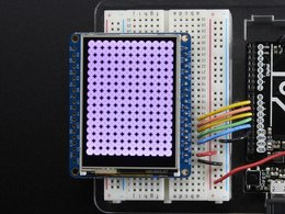 Adafruit 2 dot 4 tft lcd with touchscreen b 4010759308