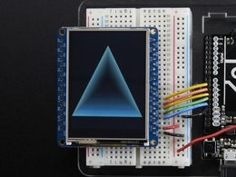 Adafruit 2 dot 4 tft lcd with touchscreen b 4557489146