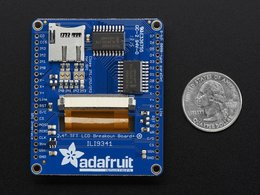 Adafruit 2 dot 4 tft lcd with touchscreen b 9464405591