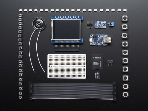 Pocket PiGRRL Pack Build your own Pi Game Emulator! - CASE + PI NOT INCLUDED