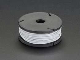 Silicone Cover Stranded-Core Wire - 25ft 26AWG - Gray