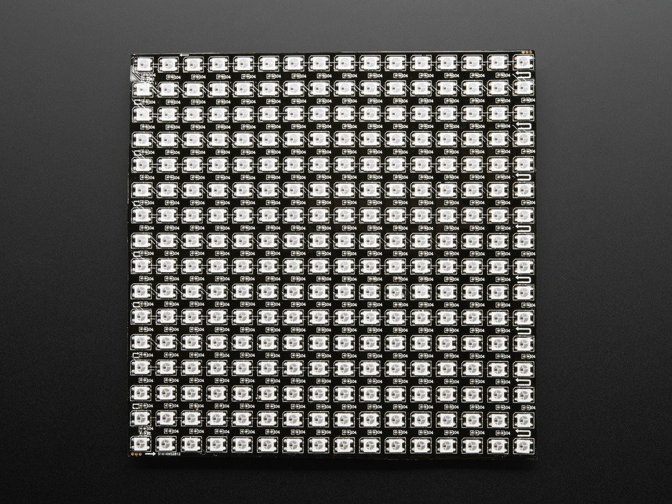 Flexible 16x16 neopixel rgb led matrix 6645533257