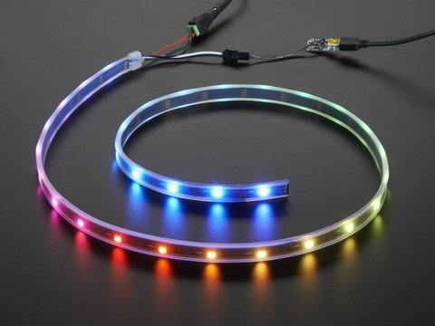 Adafruit NeoPixel LED Strip Starter Pack - 30 LED meter - Black