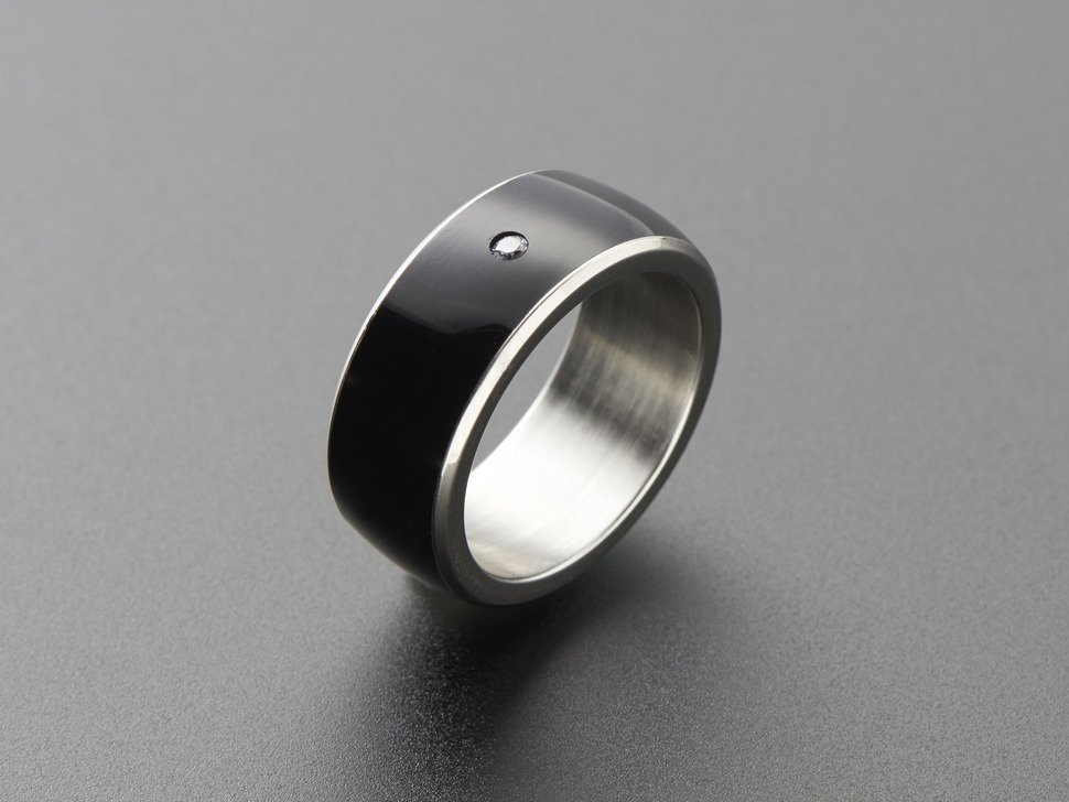Rfid slash nfc smart ring size 8 ntag213 3985192106