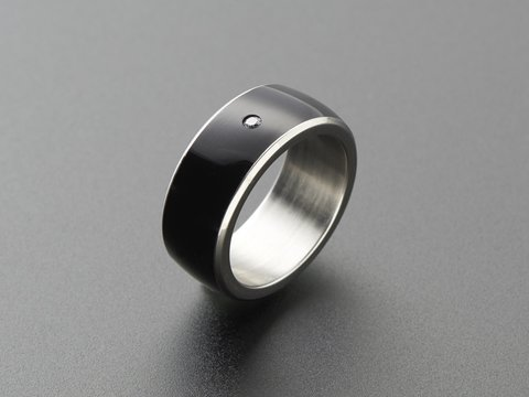 RFID / NFC Smart Ring - Size 8 - NTAG213