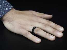 Rfid slash nfc smart ring size 8 ntag213 8906301342