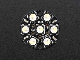 NeoPixel Jewel - 7 x 5050 RGBW LED w/ Integrated Drivers - Cool White - 6000K