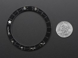 Neopixel ring 24 x 5050 rgbw leds w slash i 8482096896