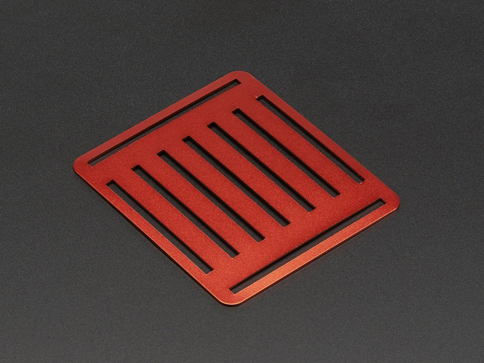 Top metal plate for a mini robot rover c 9885033537