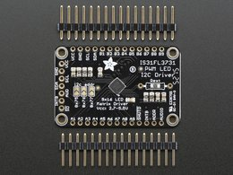 Adafruit 16x9 charlieplexed pwm led matr 5262783139
