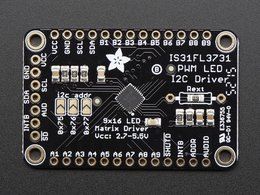 Adafruit 16x9 charlieplexed pwm led matr 411858138