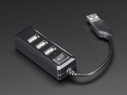 USB Mini Hub with Power Switch