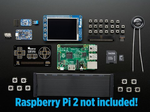 PiGRRL 2.0 Kit Pack - Build your own Pi Game Emulator! - CASE + RASPBERRY PI NOT INCLUDED