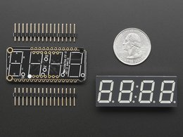 Adafruit 0 dot 56 4 digit 7 segment feather 472550241