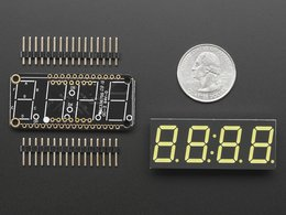 Adafruit 0 dot 56 4 digit 7 segment display 7075250153