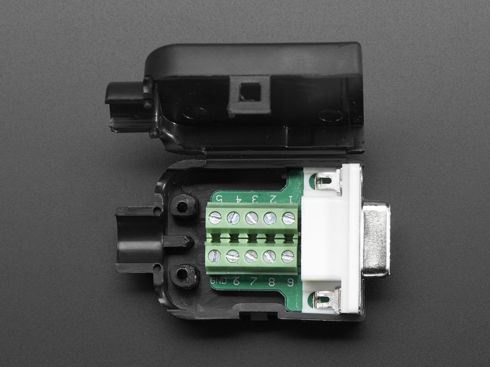De 9 db 9 female socket connector to t 5602627422