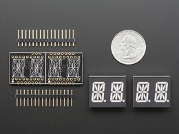 Adafruit 0 dot 54 quad alphanumeric feather 7798228369